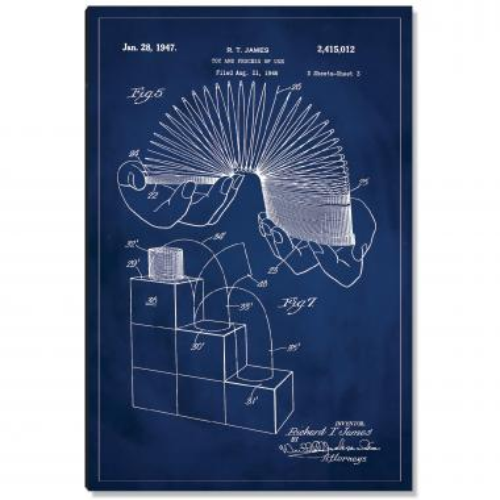 Slinky Patent Art