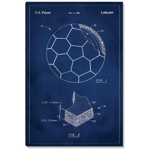 Soccer Ball Patent Art