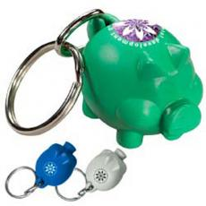 Key Holders With Animal Novelty - Friendly Bank'r - Recycled pig shaped key tag