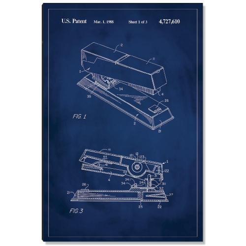 Stapler Patent Art