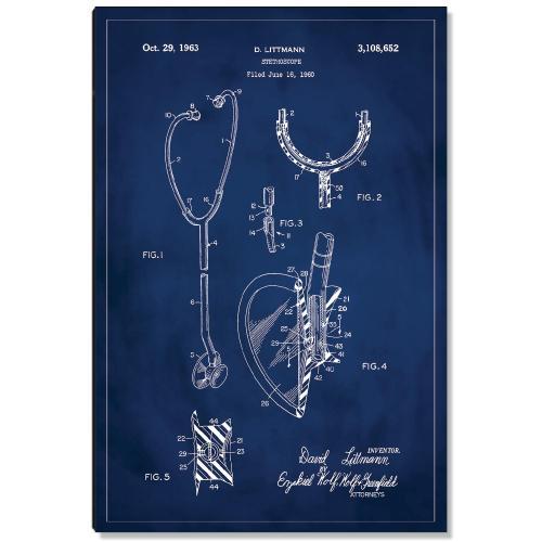 Stethoscope Patent Art