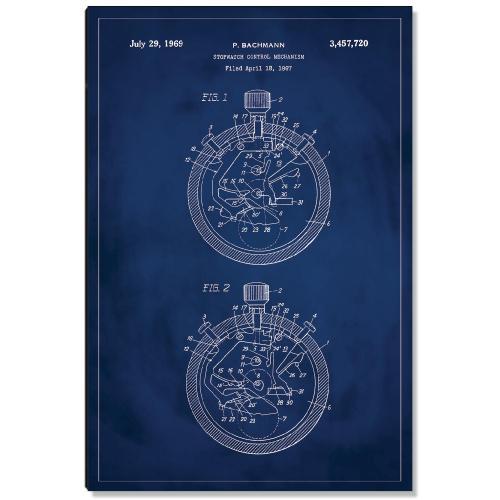Stopwatch Patent Art