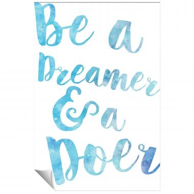 Be a Dreamer Watercolor Series I