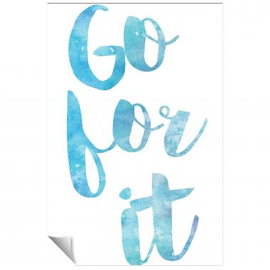 Go For It Watercolor Series I