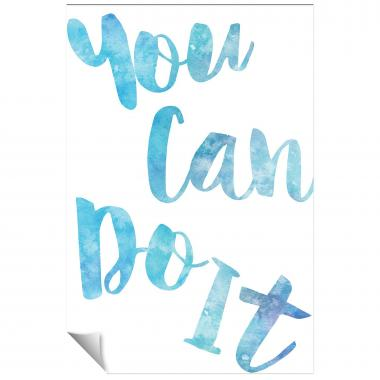 You Can Do It Watercolor Series I