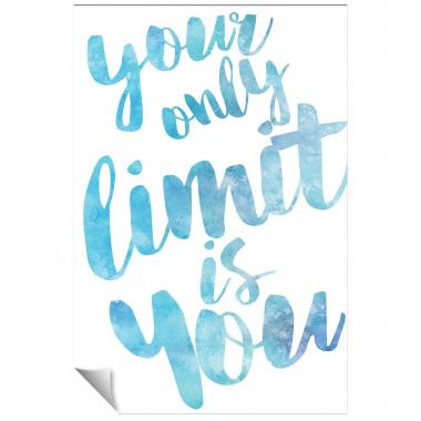 Your Only Limit Watercolor Series I