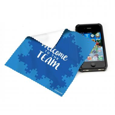 Welcome to the Team Microfiber Cleaning Cloth