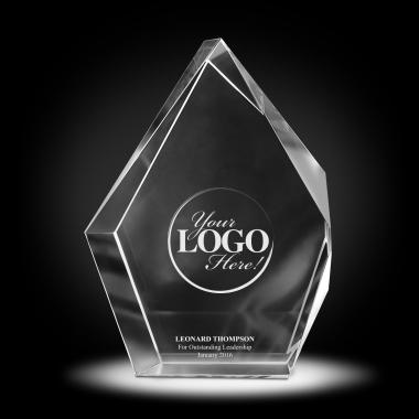Custom 3D Crystal Diamond Award