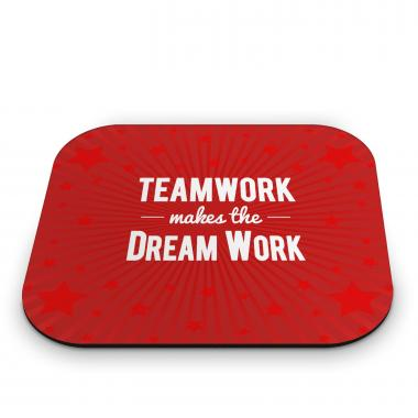 Teamwork Dream Work Mouse Pad