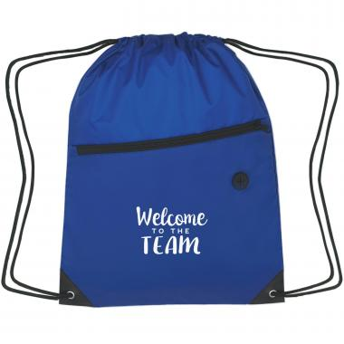 Welcome to the Team Cinch Close Backpack