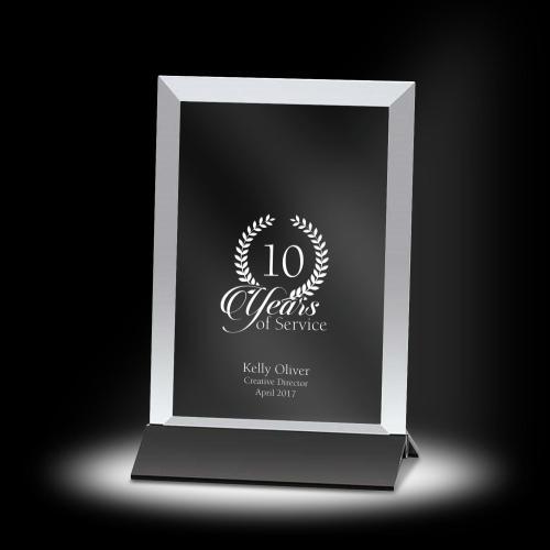 Victor Vertical Crystal Award