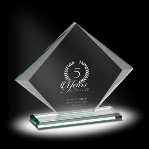 Rhomboid Glass Award
