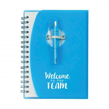 You're An Essential Part Notebook and Pen