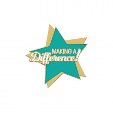 Making a Difference Star Lapel Pin