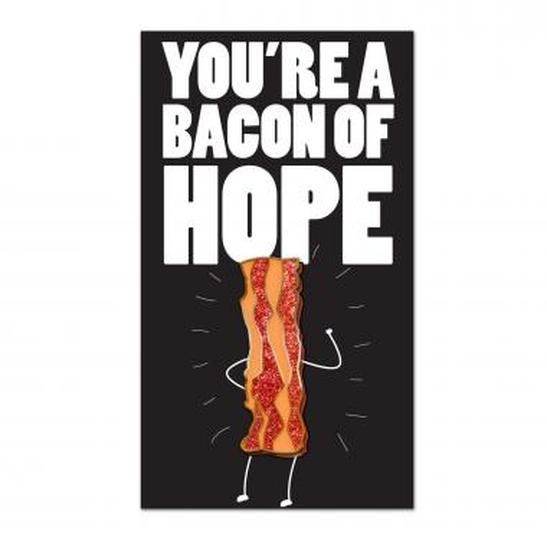 Bacon of Hope Lapel Pin