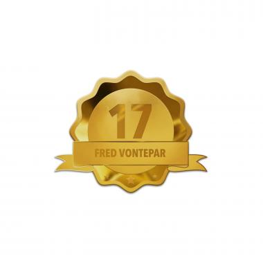 Custom Service Gold Lapel Pin Award