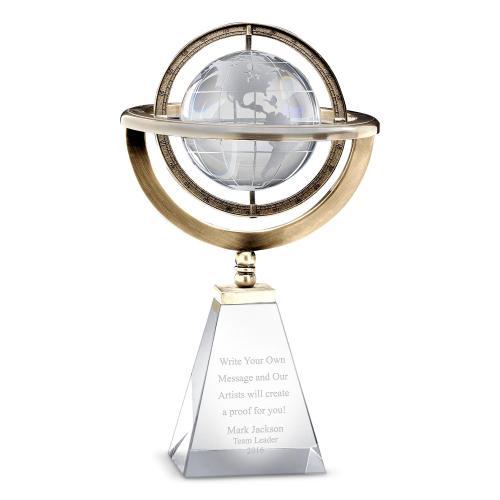 Axis Globe Crystal Award