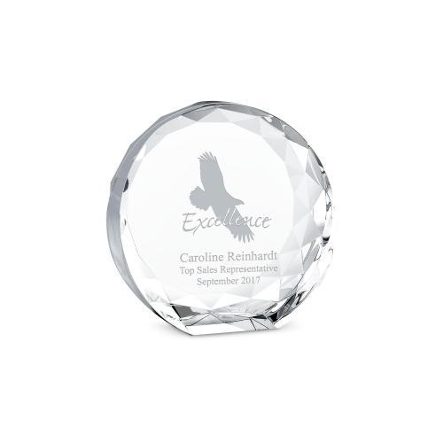 Facet Crystal Award