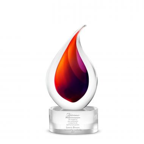 Lava Art Glass Award