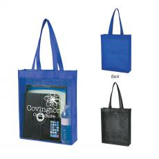 Clear - Non-Woven Clear View Tote Bag