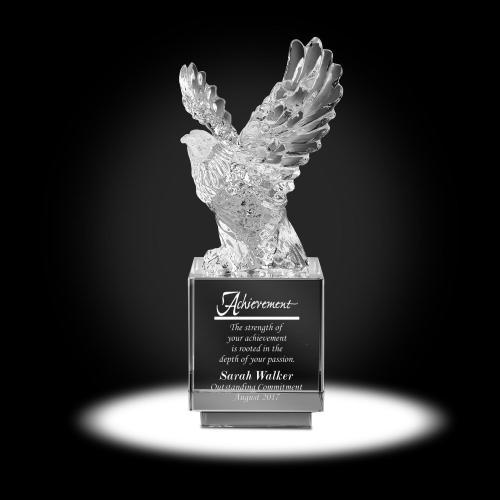 Shining Eagle Crystal Award