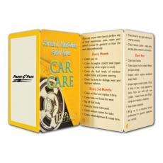 Tradeshow & Event Supplies - Key Points<sup>™</sup> - Fact filled fold up guide to car care
