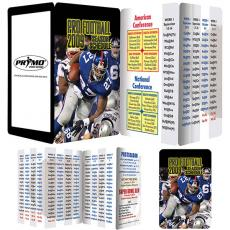 Tradeshow & Event Supplies - Key Points<sup>™</sup> - Fact filled fold up guide to pro football
