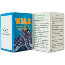 Tradeshow & Event Supplies - Key Points<sup>™</sup> - Fact filled fold up walker's guide
