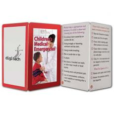 Tradeshow & Event Supplies - Key Points<sup>™</sup> - Fact filled fold up guide to children's medical emergencies
