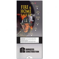 Tradeshow & Event Supplies - Pocket Slider - Fire and home safety informational guide