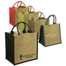 Tote Bags General - Eco-Responsible<sup>™</sup>;Junior - Jute tote with velcro closure