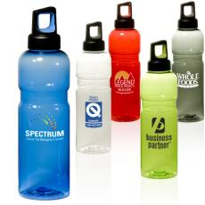 Bottles General - 26 oz. Tritan<sup>™</sup> copolyester bottle - BPA free, screw-on top with finger handle