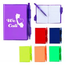 Notebook / Jotters - Jelly Notebook With Pen