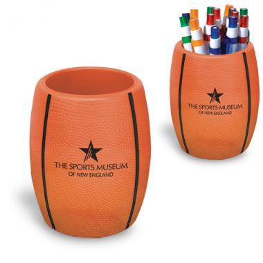Basketball -  Strong flexible polyurethane can holder, holds a 12 oz. can
