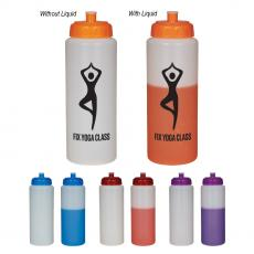 Sports / Collapsible Bottles - 32 Oz. Mood Sport Bottle