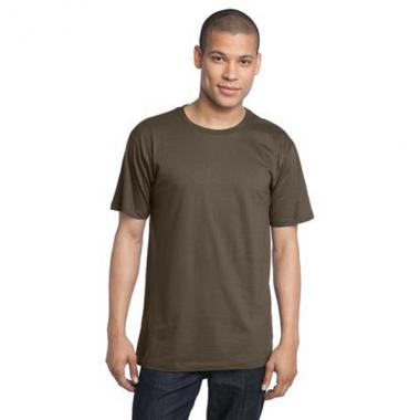 District Made<sup>&trade;</sup> - 3XL Colors -  Men's organic cotton perfect weight crew tee