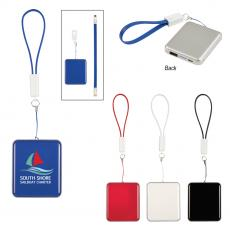 Power Banks - UL Listed Power Bank With Cable Strap