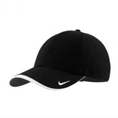 Nike Golf<sup>&reg;</sup> - Swoosh perforated cap with maximum breathability. Blank