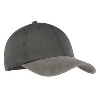 Port & Company<sup>&reg;</sup> - Two tone unstructured low profile pigment dyed cap. Blank