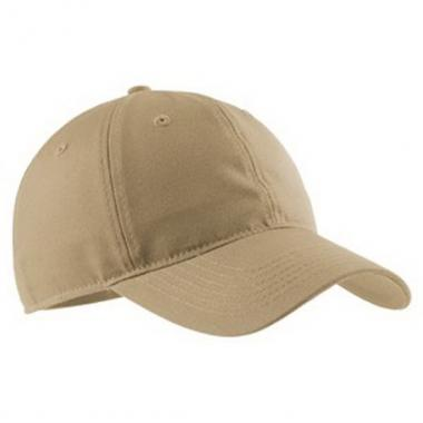 Port Authority<sup>&reg;</sup> - Soft brushed canvas cap, unstructured, low profile, hook and snap closure. Blank