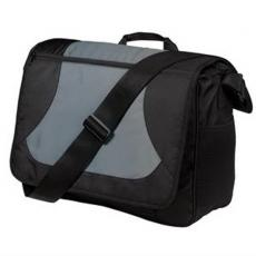 Messenger Bags - Midcity;Port Authority<sup>®</sup> - Light, durable messenger bag is business-ready and full of convenient storage space, blank