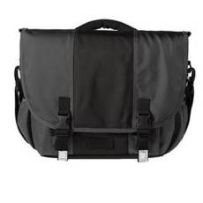 Messenger Bags - District<sup>®</sup>;Montezuma<sup>®</sup> - Messenger bag with padded carrying handle and computer compartment, blank