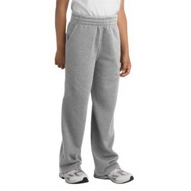 Sport-Tek<sup>&reg;</sup> - Youth cotton/polyester sweat pants. 9 oz. 60/35 ring spun combed cotton/poly