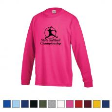 Apparel - Delta® Pro Weight™ Youth Regular Fit Long Sleeve Tee