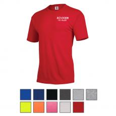 Apparel - Delta® Delta-Dri™ 30/1's Performance Adult Short Sleeve Tee