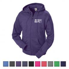 Apparel - Delta® Adult Unisex French Terry Fleece Zip Hoodie