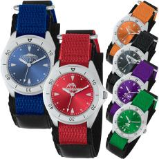 Fashion Accessories - Analog watch with unisex style, sporty band and double ring design