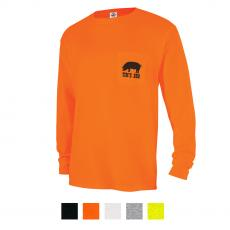 Apparel - Delta® Magnum Weight™ Adult Long Sleeve Pocket Tee