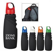 Sports and Water Bottles - 24 Oz. Matte Finish Crest Carabiner Sports Bottle