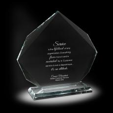 Glass Trophies - Prominence Glass Award